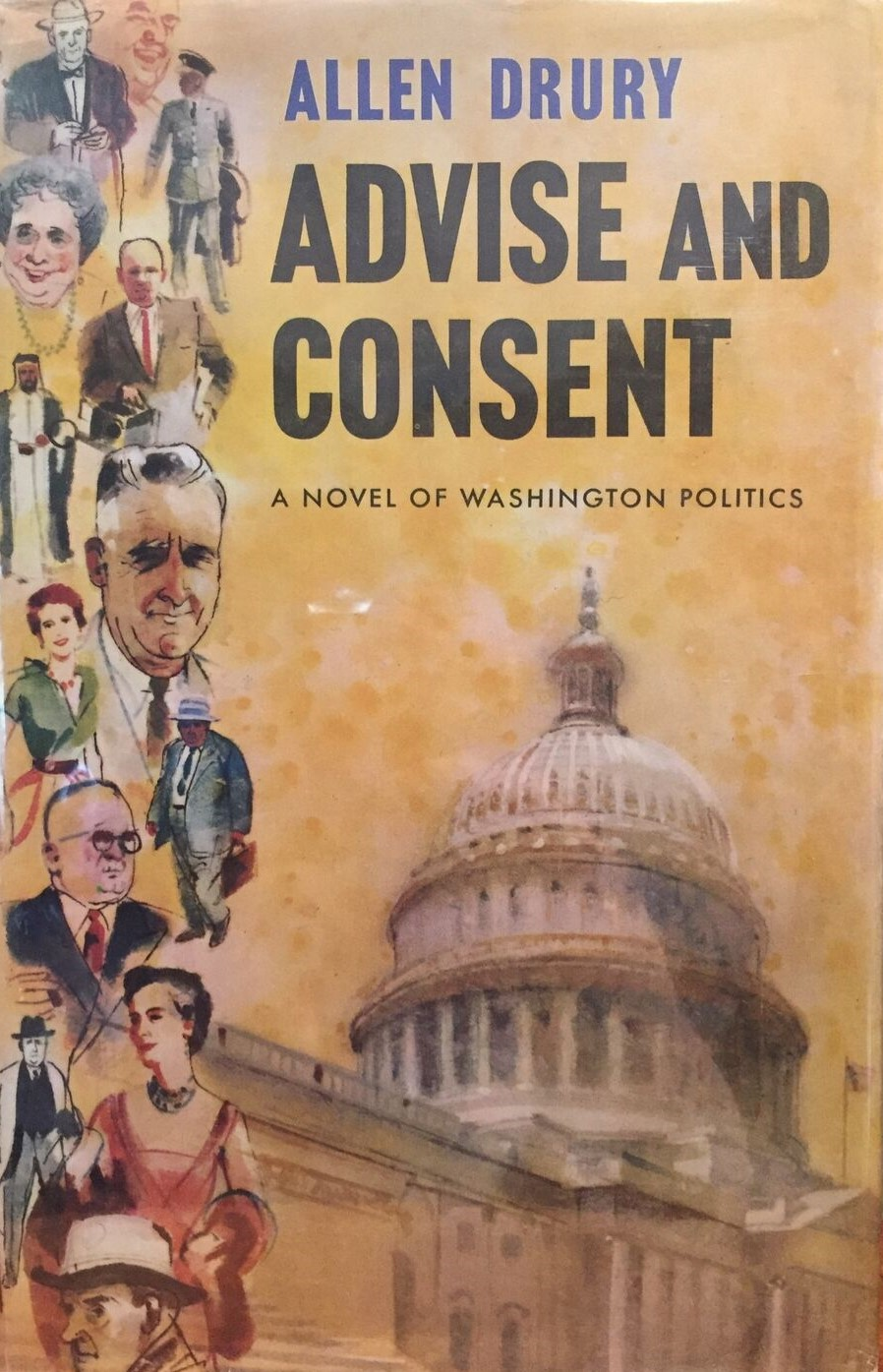 """Book into Film – """"Advise and Consent""""(1962)"""