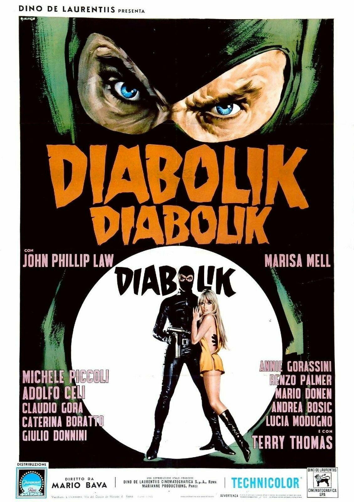 Danger: Diabolik (1968)****