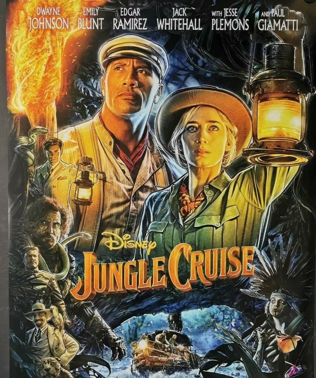 Jungle Cruise (2021) **** – Seen At TheCinema