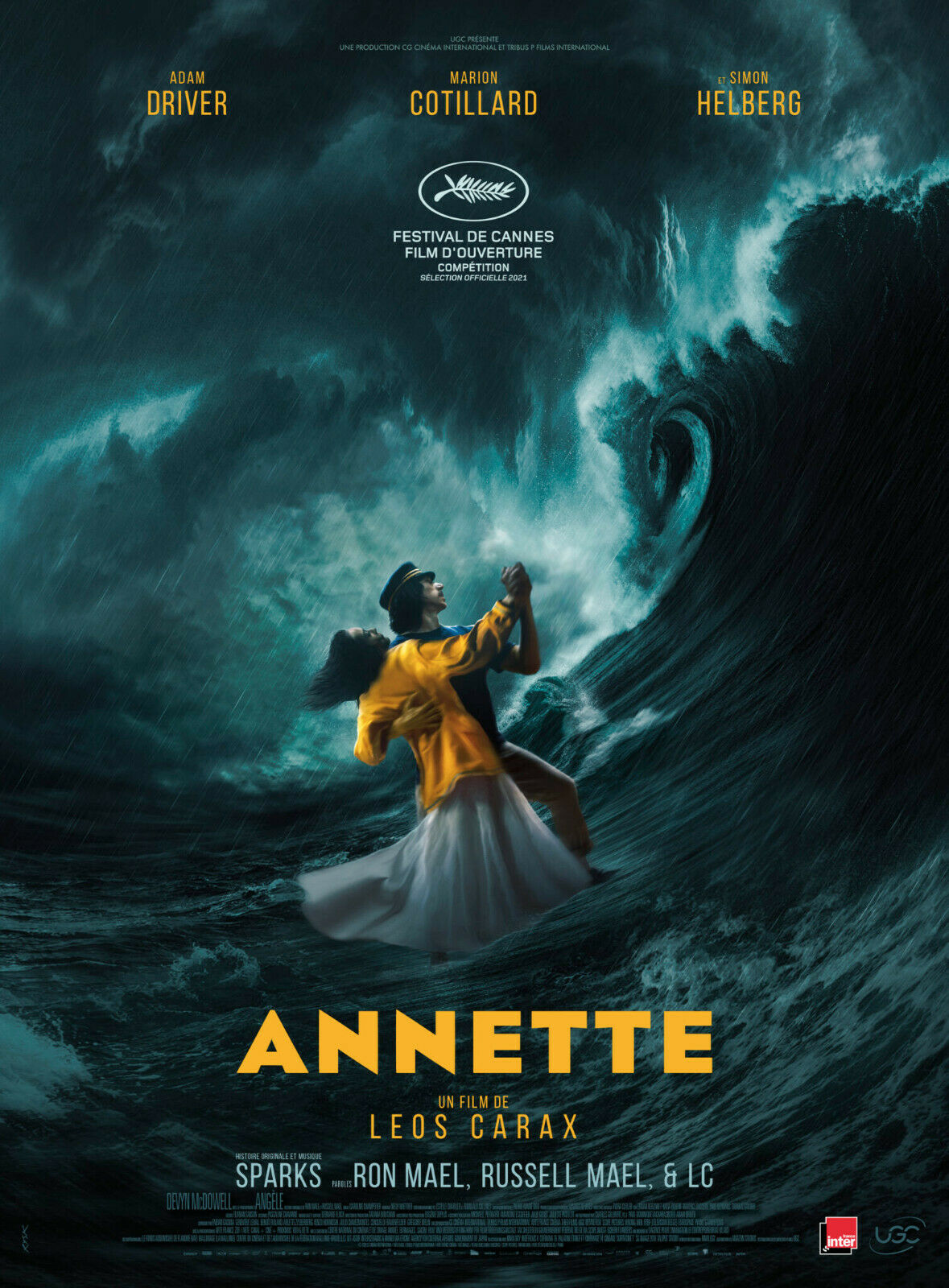 Annette (2021) * – Seen at theCinema