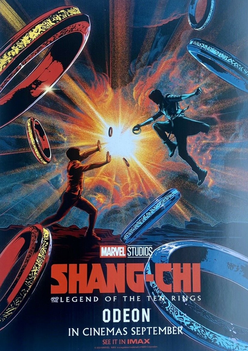 Shang-Chi and the Legend of the Ten Rings (2021) **** – Seen at theCinema