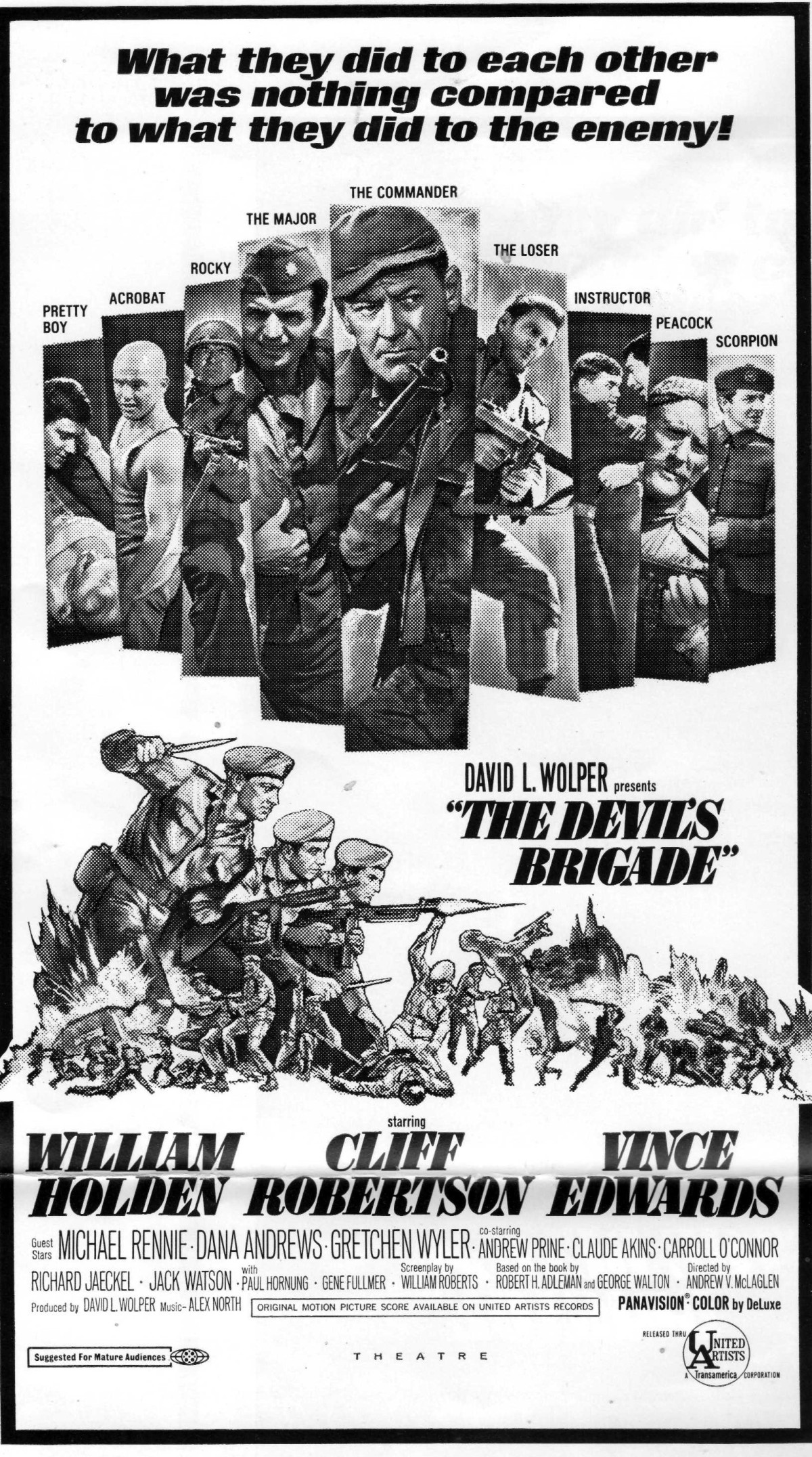 """Selling War – The Pressbook for """"The Devil's Brigade""""(1968)"""